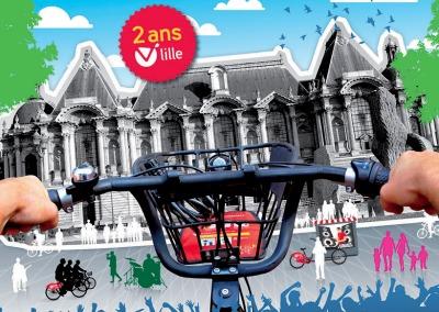 Place aux velos ! 2 ans du V'Lille