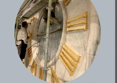 Renovation de la tour abbatiale de St-Amand-les-eaux