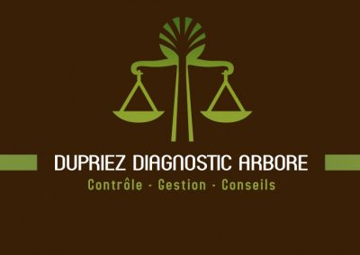 DUPRIEZ DIAGNOSTIC ARBORE