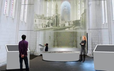 La chapelle Baudelle, future vitrine du plan-relief