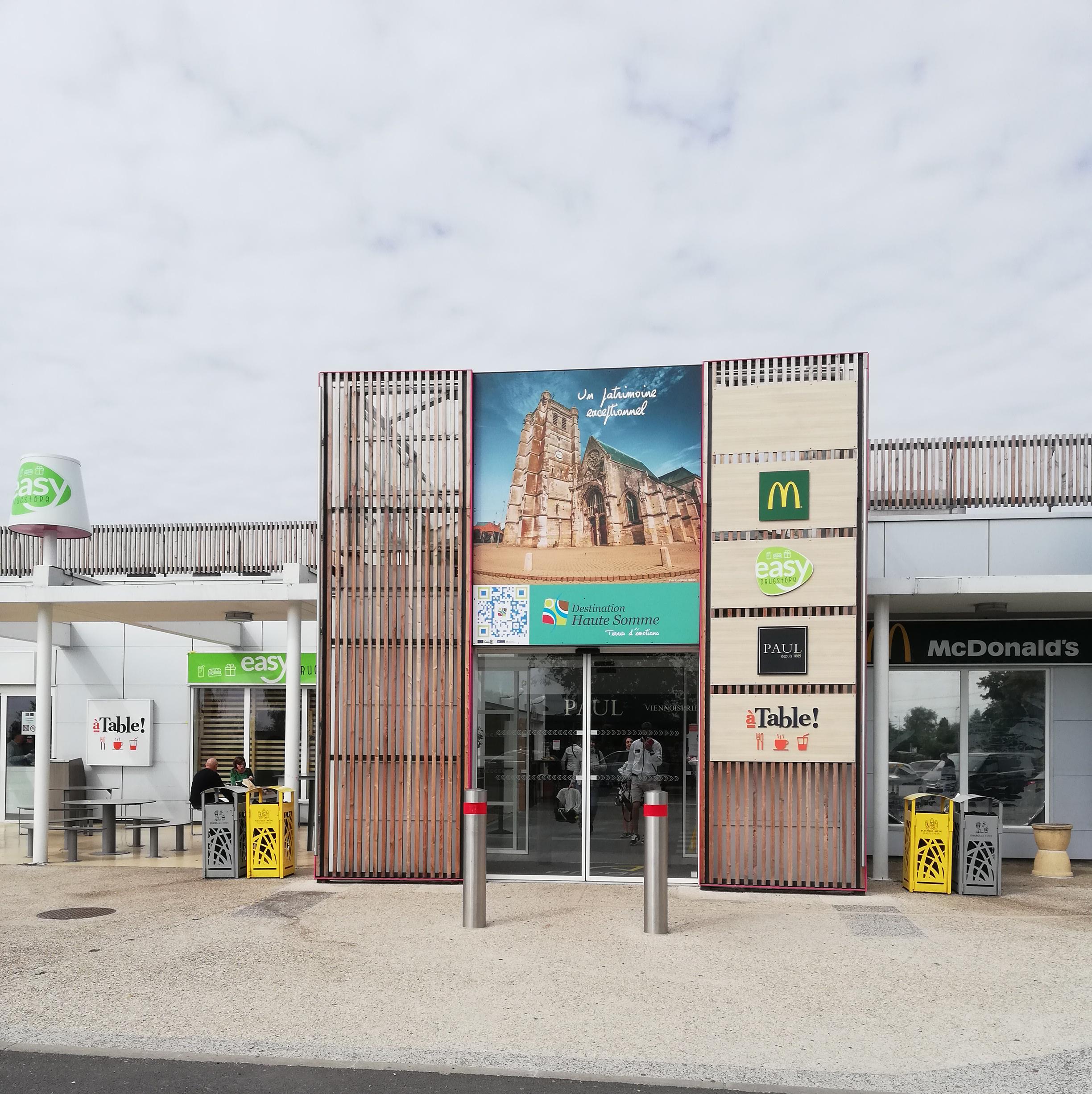 Porte aire d'autoroute Cœur des Hauts-de-France